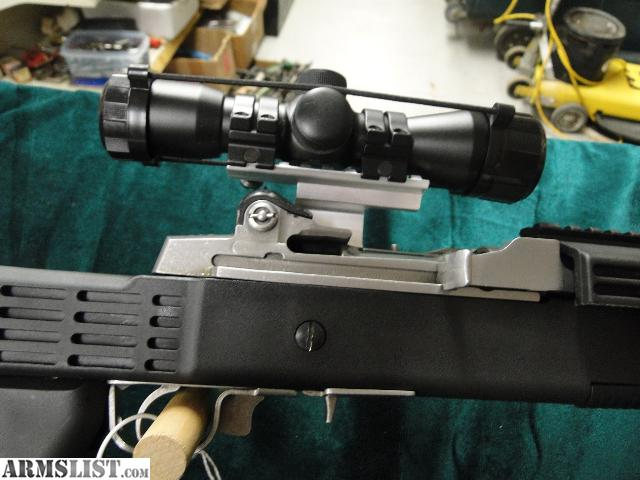 ARMSLIST For Sale Ruger Mini 14 Tactical With Scope