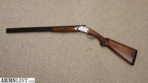 ARMSLIST  For Sale: Beretta 20 Gauge OU