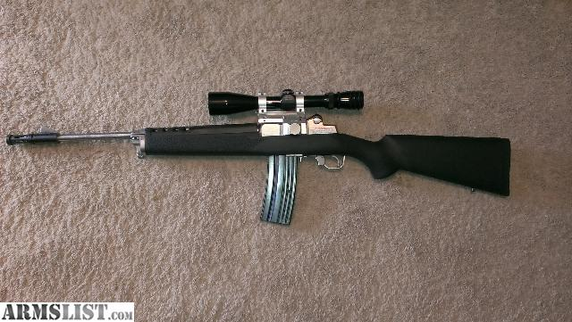 Ruger Mini 14 Hogue Stock