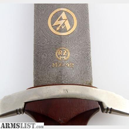 Armslist For Sale Ww2 German Sa Dagger Presentation
