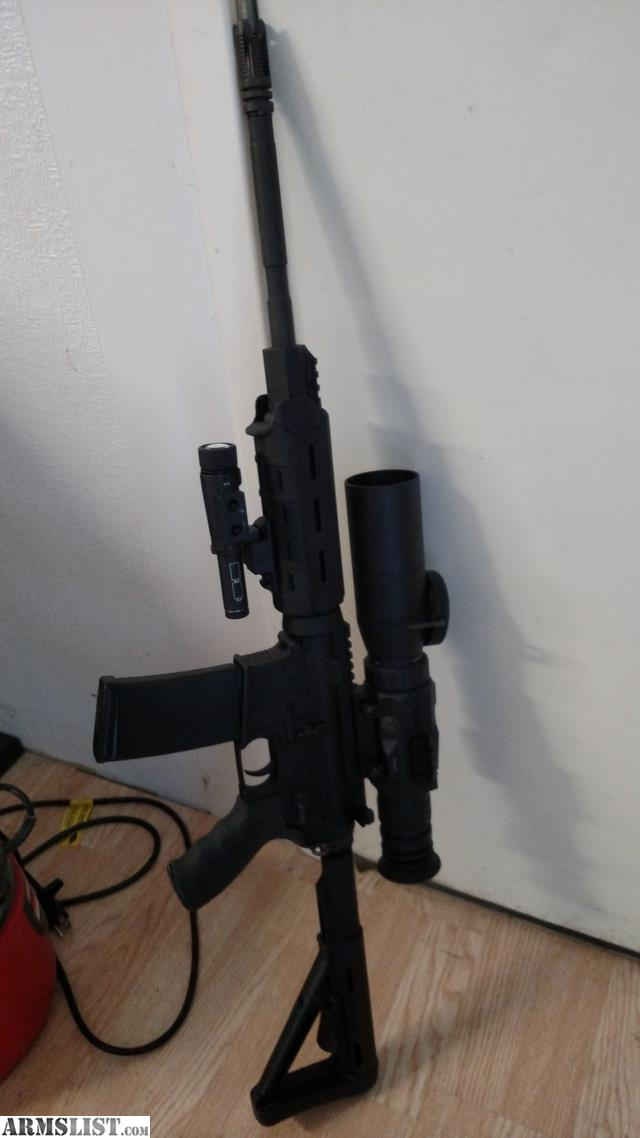 ARMSLIST For Sale Core 15 Ar 15 Atn Xsite Night Vision