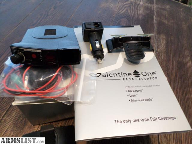 ARMSLIST For Sale Valentine One Radar Detector