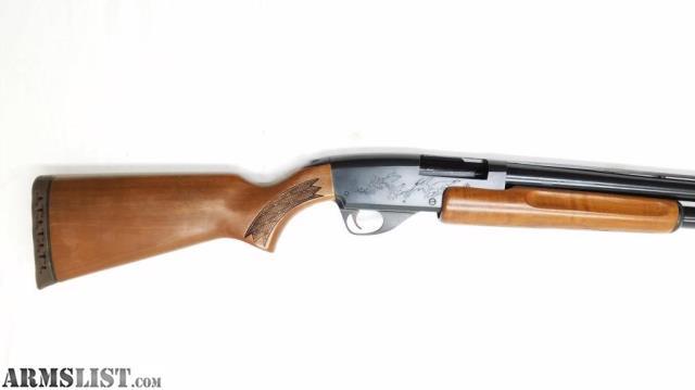 springfield stevens 12 gauge pump shotgun