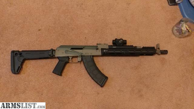 ARMSLIST For Trade Custom Ak47 Magpul And Troy Furniture