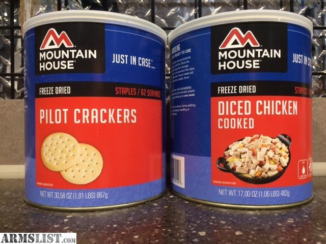 For Sale: Mountain House Freeze Dried Food