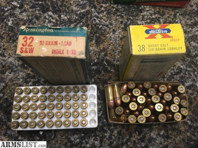 32 Vs S W Short 32 Colt
