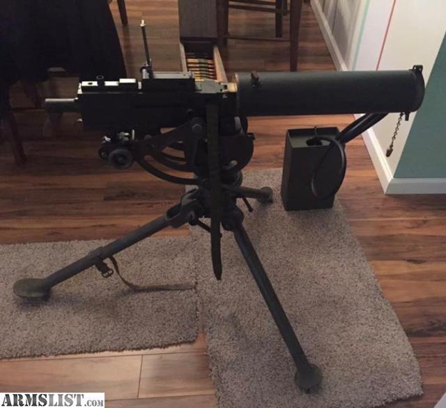 Gun Machine Wwi Browning