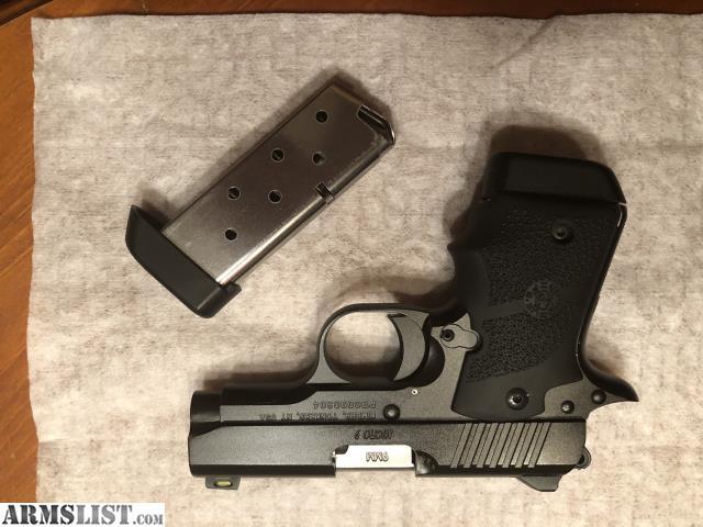 Kimber Micro 9 Nightfall 9mm Caliber 1911 Pistol Nib Sn