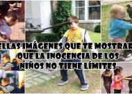 17 Bellas Imágenes que te mostrarán que la inocencia de los niños no tiene límites, la #3 me encantó