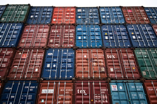 Container-shipping