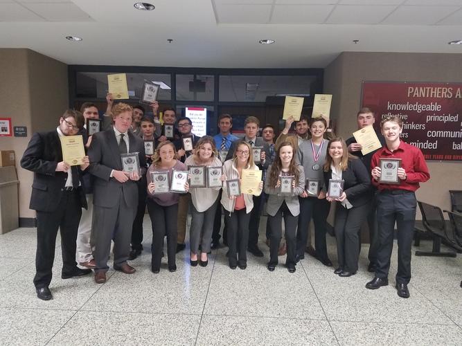 Mooresville High School Students