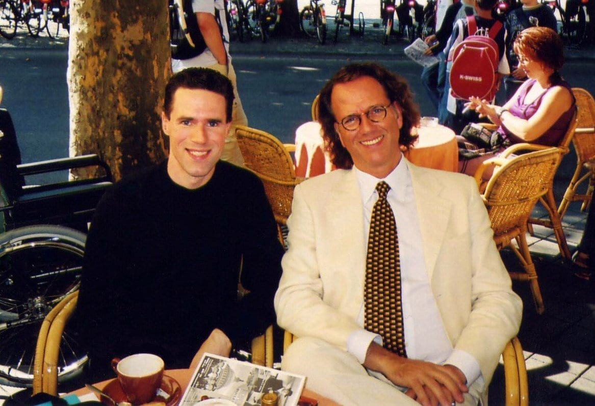 Violinist and PBS performer Andre Rieu invited me to the Netherlands two summers in a row to interview him in his charming hometown of Maastricht.