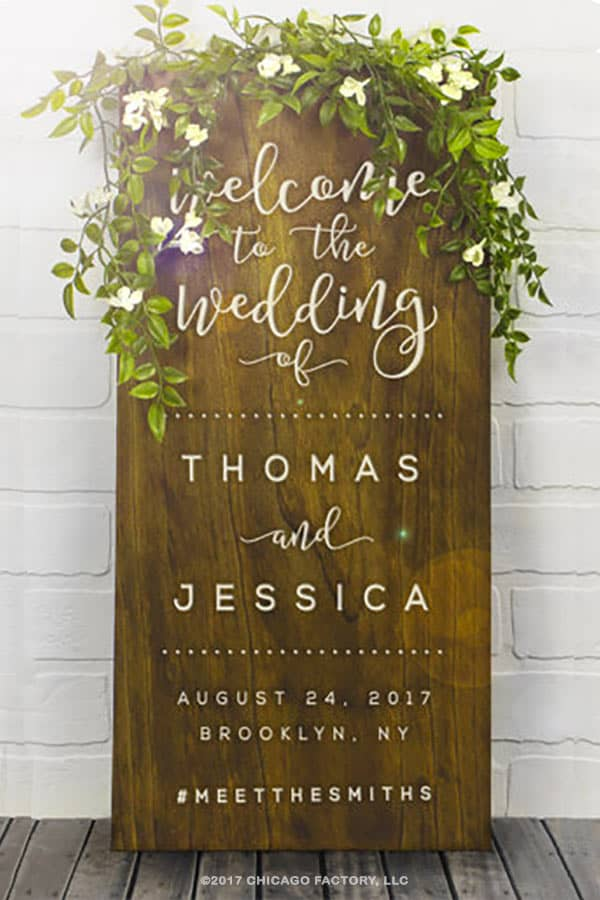 Rustic Wood Signs (Page 1 of 2)   Wedding Products from ...