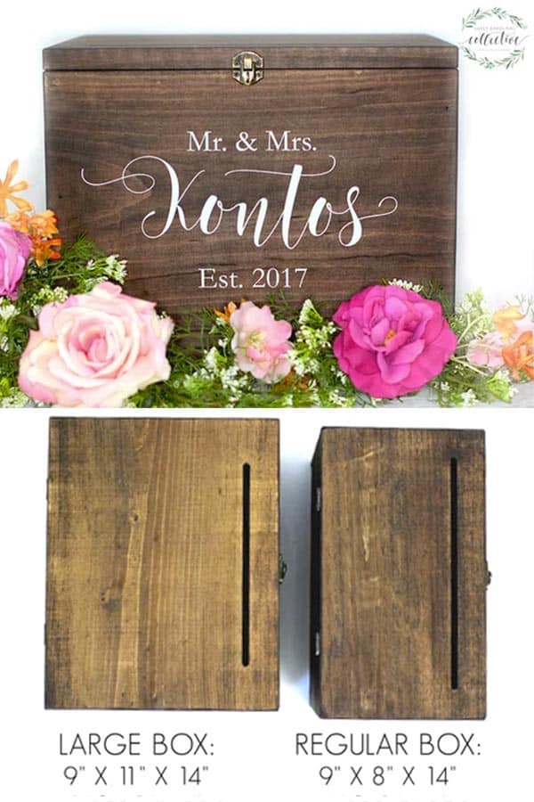 rustic card boxes page 1 of 2 wedding products from