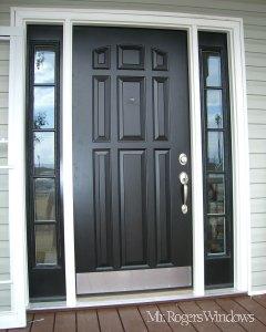 Paneled Exterior Door