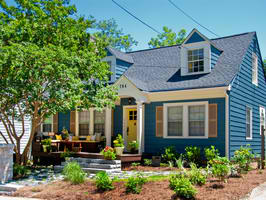 blue house HGTV