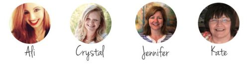 Ministry Sync's Support and Sales Team Members: Ali, Crystal, Jennifer and Kate