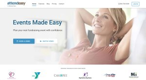 AttendEasy Product Website