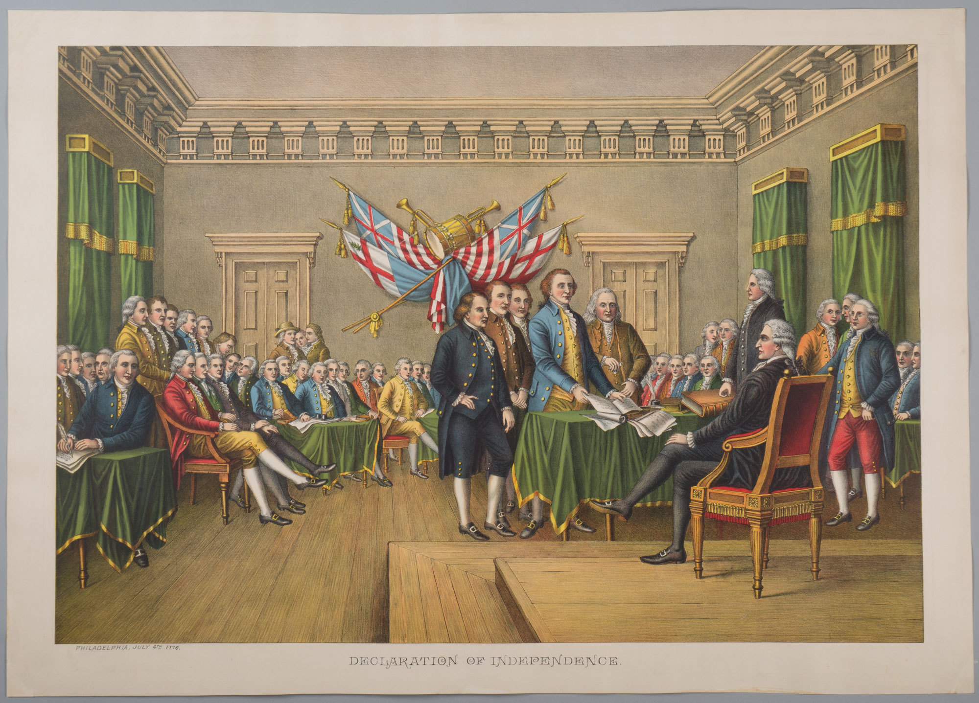 Declaration Of Independence July 4 George