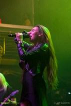 Amaranthe live at Terminal 5, NYC. 10.10.14