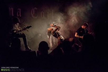Infected Rain at Majestic Music Club in Bratislava