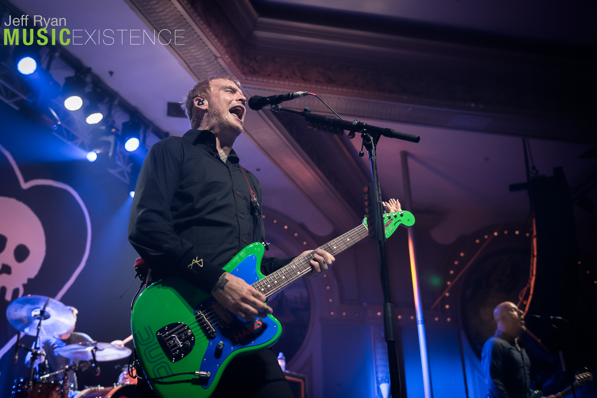 Alkaline Trio at Crystal Ballroom in Portland, OR 10/8/2018