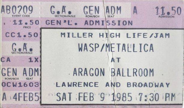 Metallica-Ticket-1985