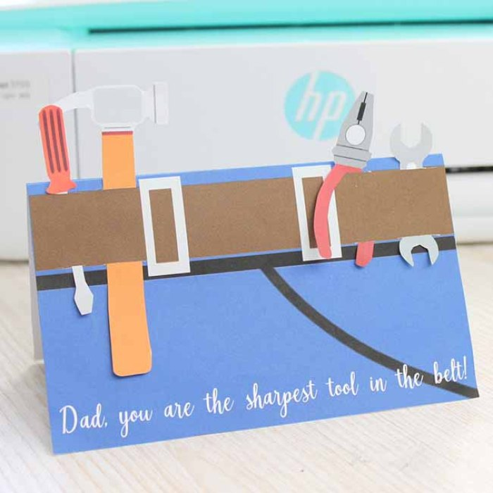 DIY Printable Father's Day Card