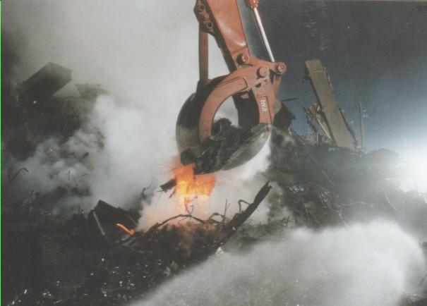 molten steel fake