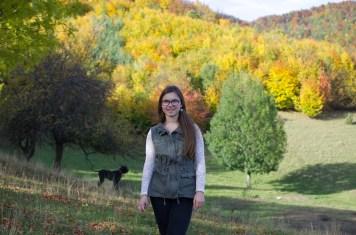 Elisabeth in the fall