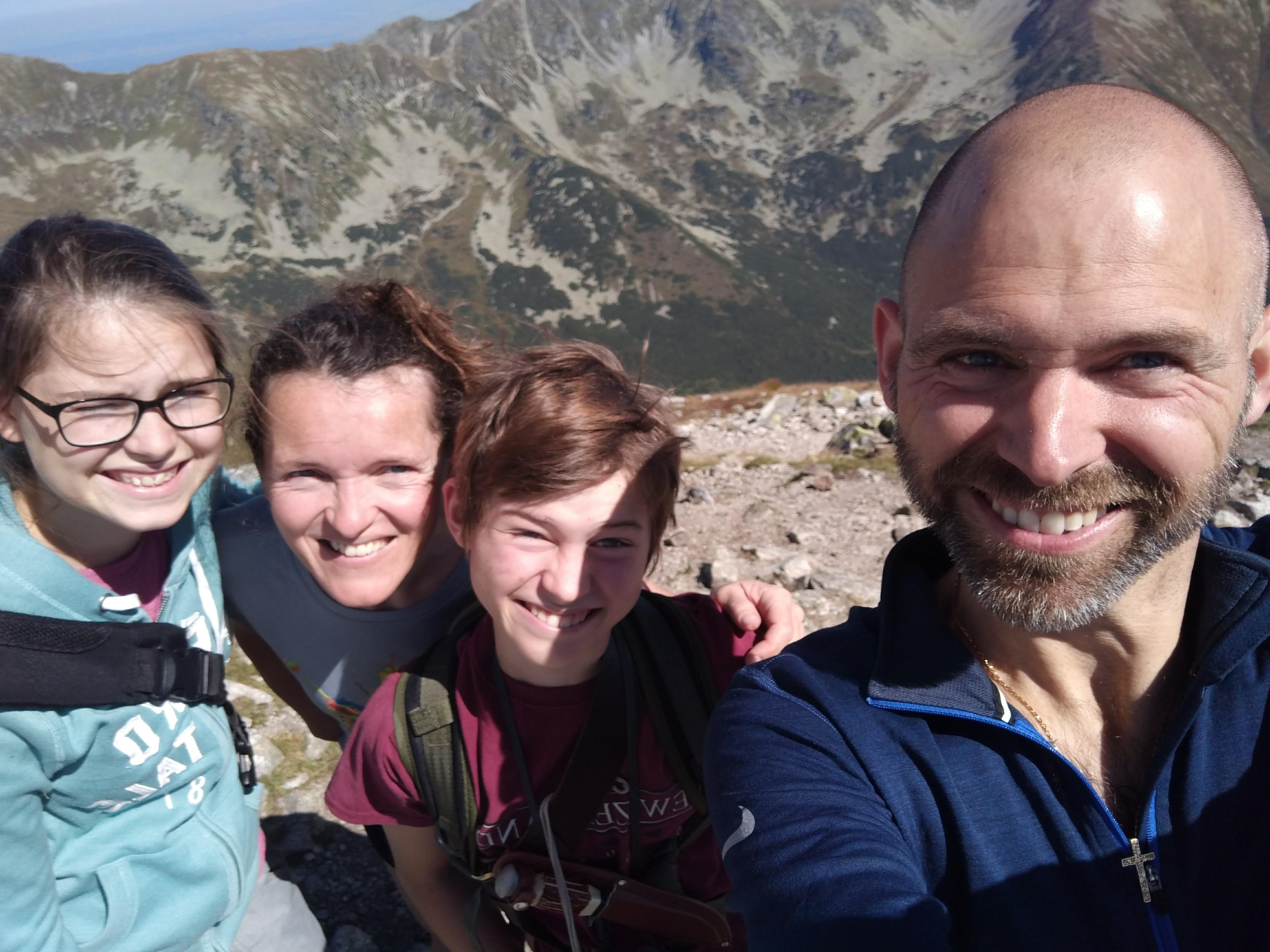 A hike up Baranec in the Western Tatras.