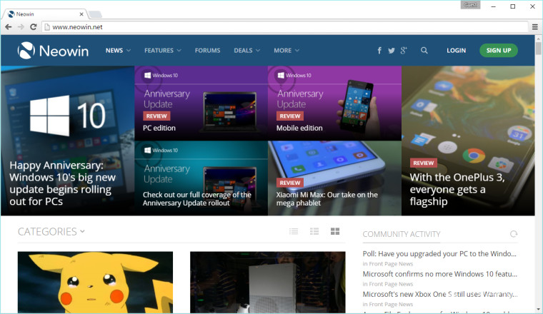 Not A Fan Of Material Design On Chrome 52 Heres How To