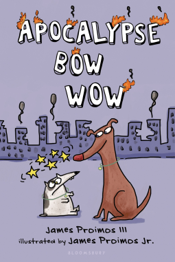 ARC Review: Apocalypse Bow Wow by James Proimos III and James Proimos Jr.