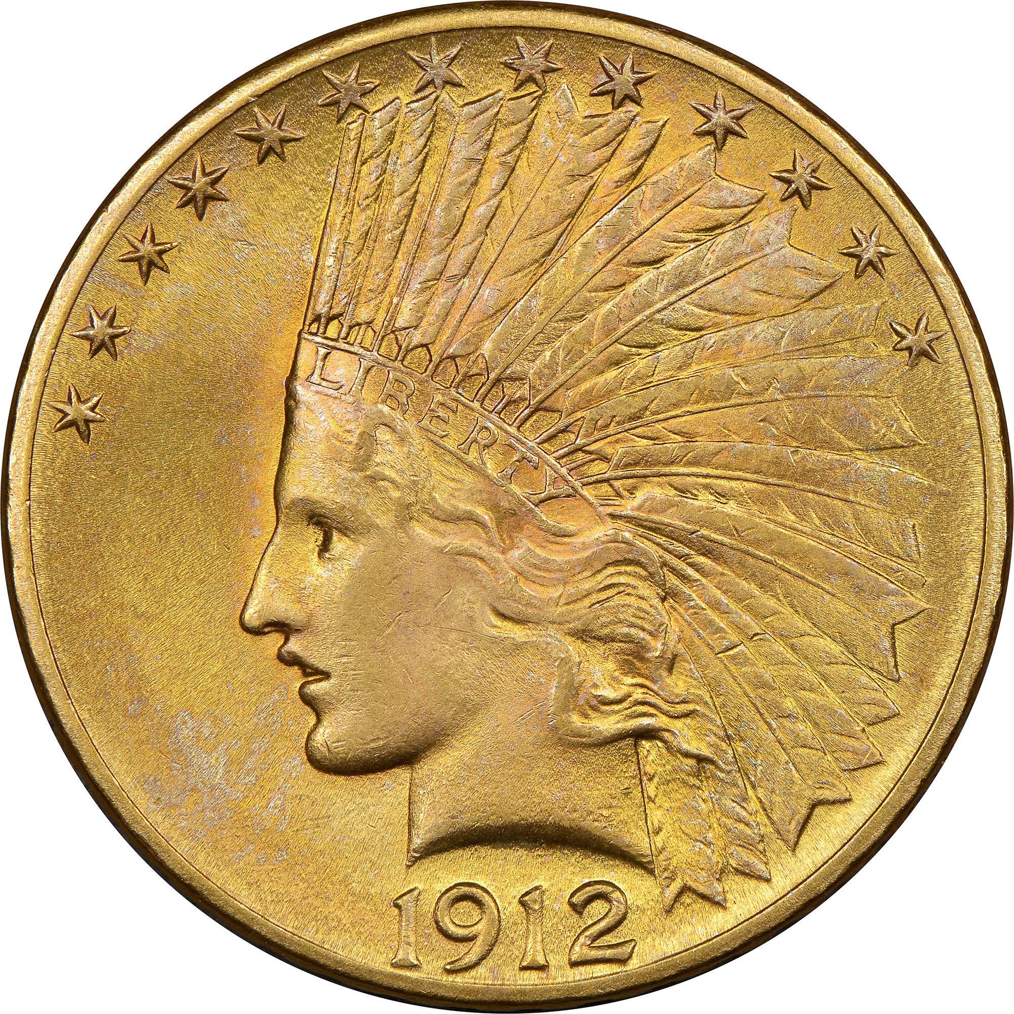 10 Ms Indian Head 10