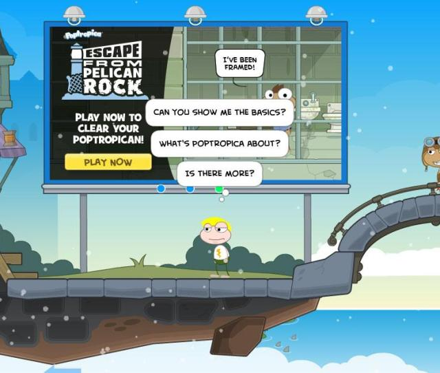 Players Poptropica Getting Started