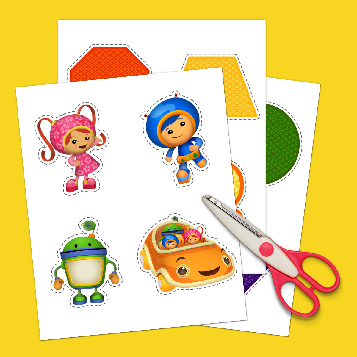 Team Umizoomi Scavenger Hunt