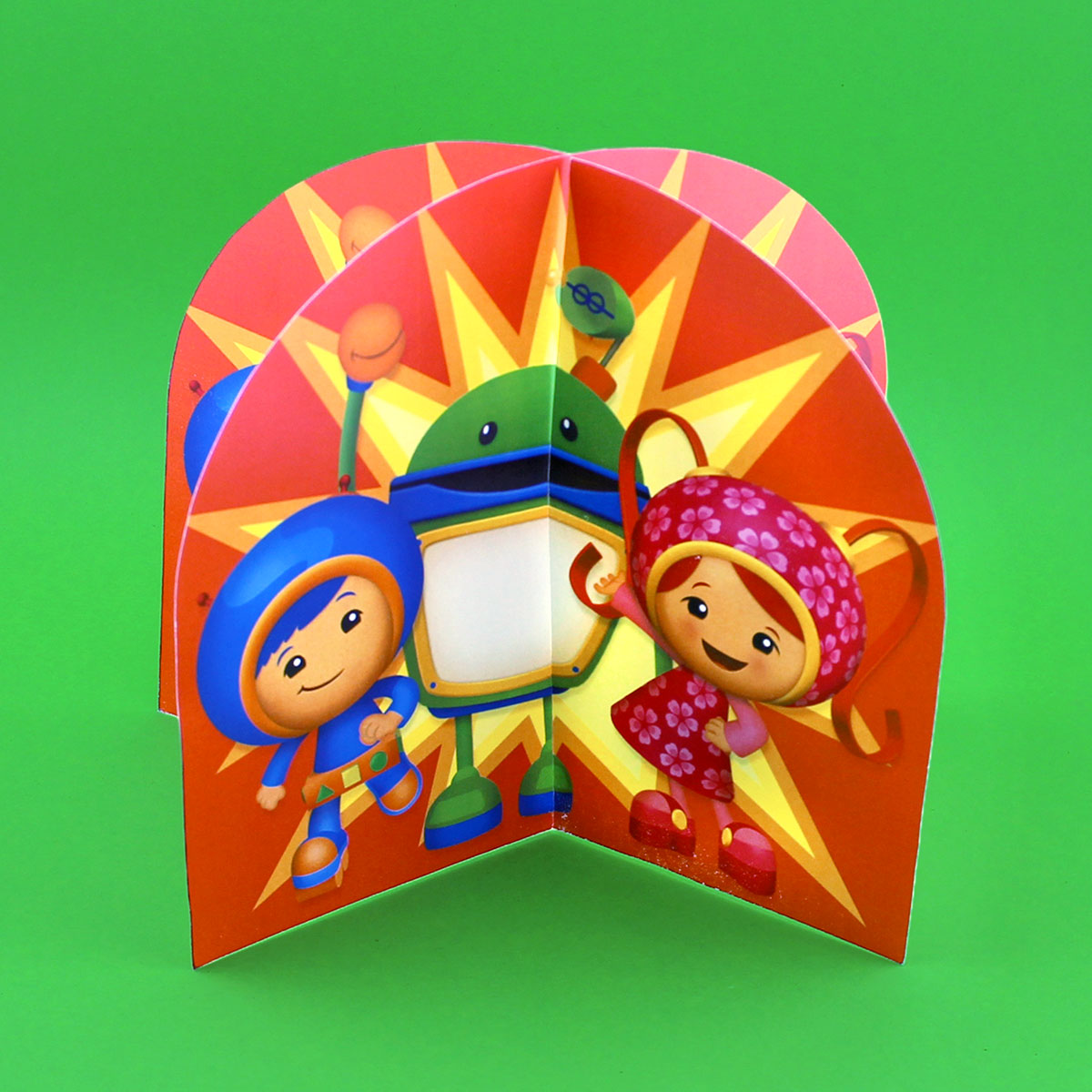 Team Umizoomi 3d Table Topper