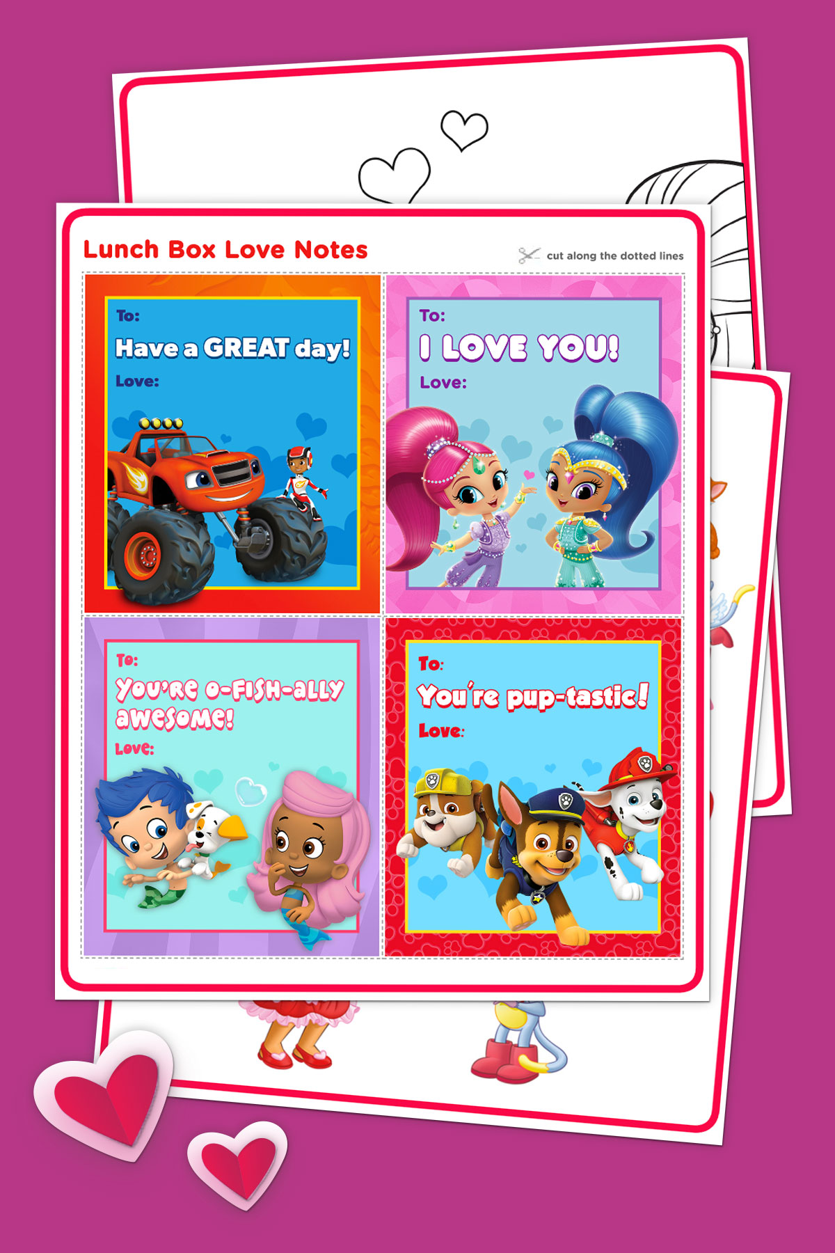 Valentine S Day Free Printable Activity Pack