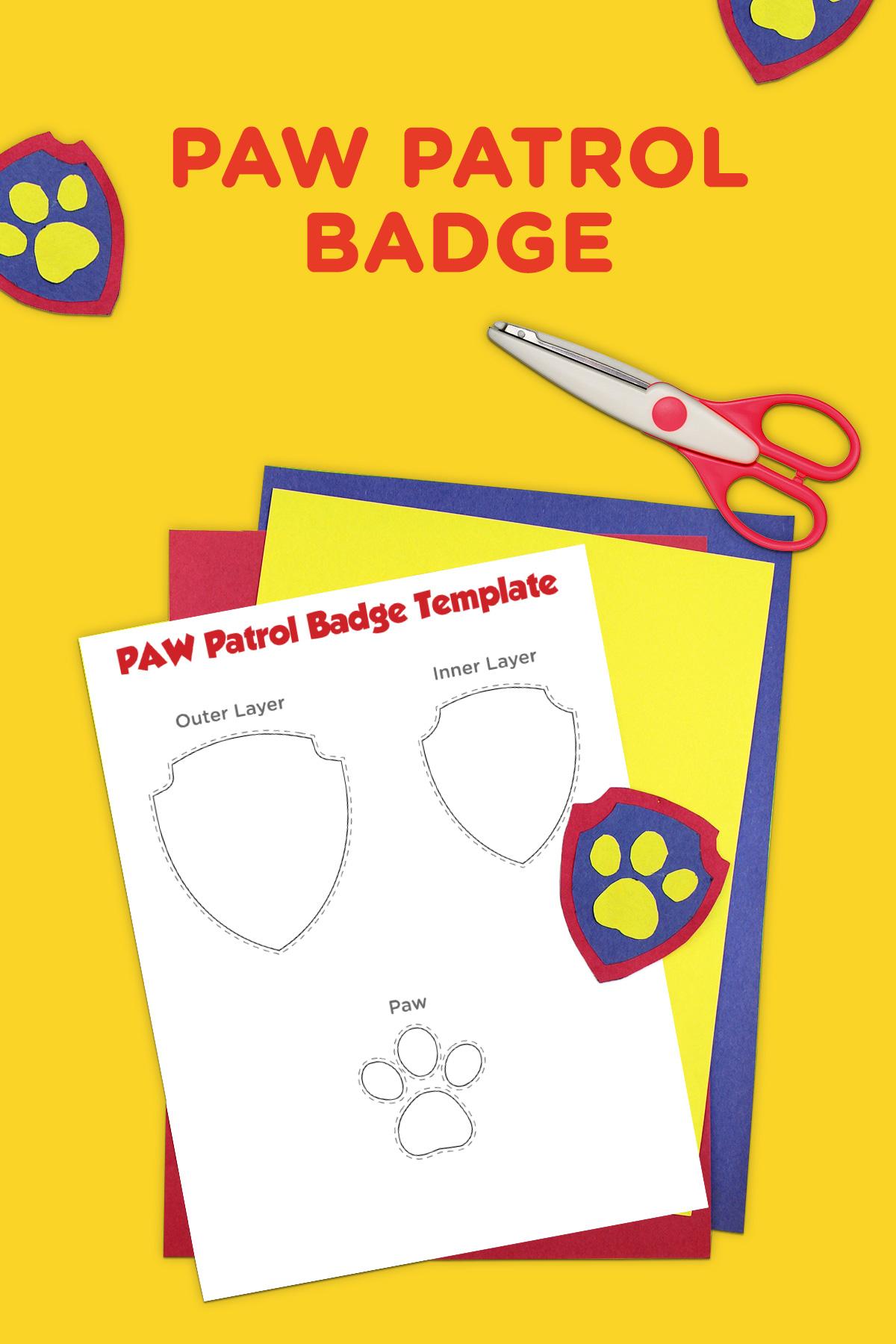 Paw Patrol Printable Logo Name