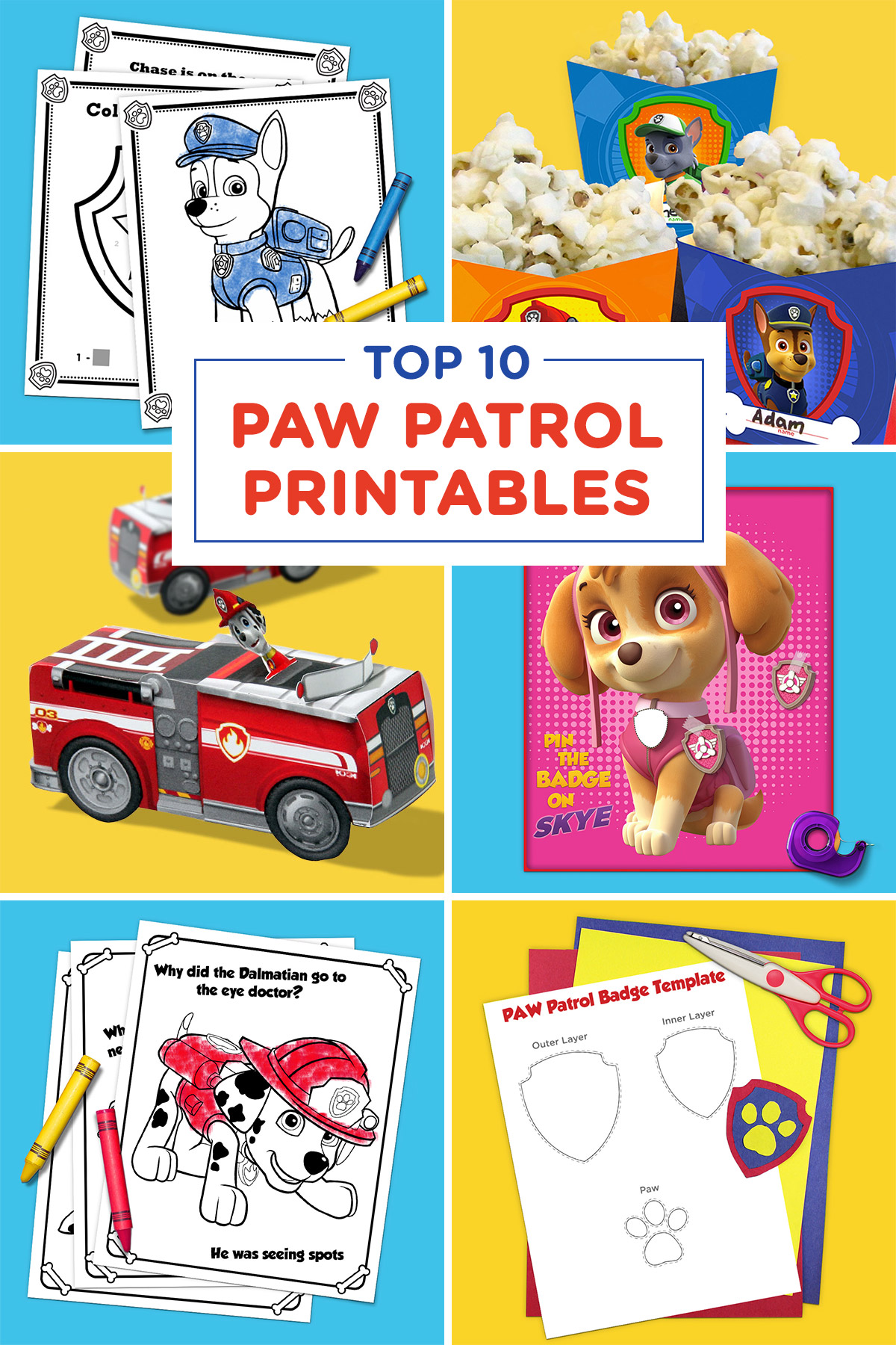 photo about Paw Patrol Printable Decorations known as Paw Patrol birthday social gathering: a correct mothers specialist - The Numerous