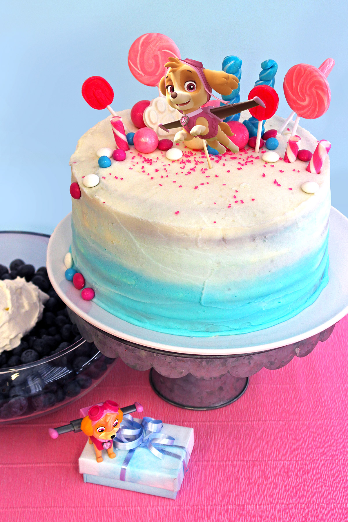 Paw Patrol Skye Birthday Cake Topper