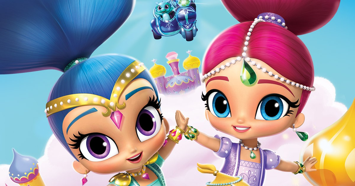 A Magical Summer Of SHIMMER AND SHINE Nickelodeon Parents