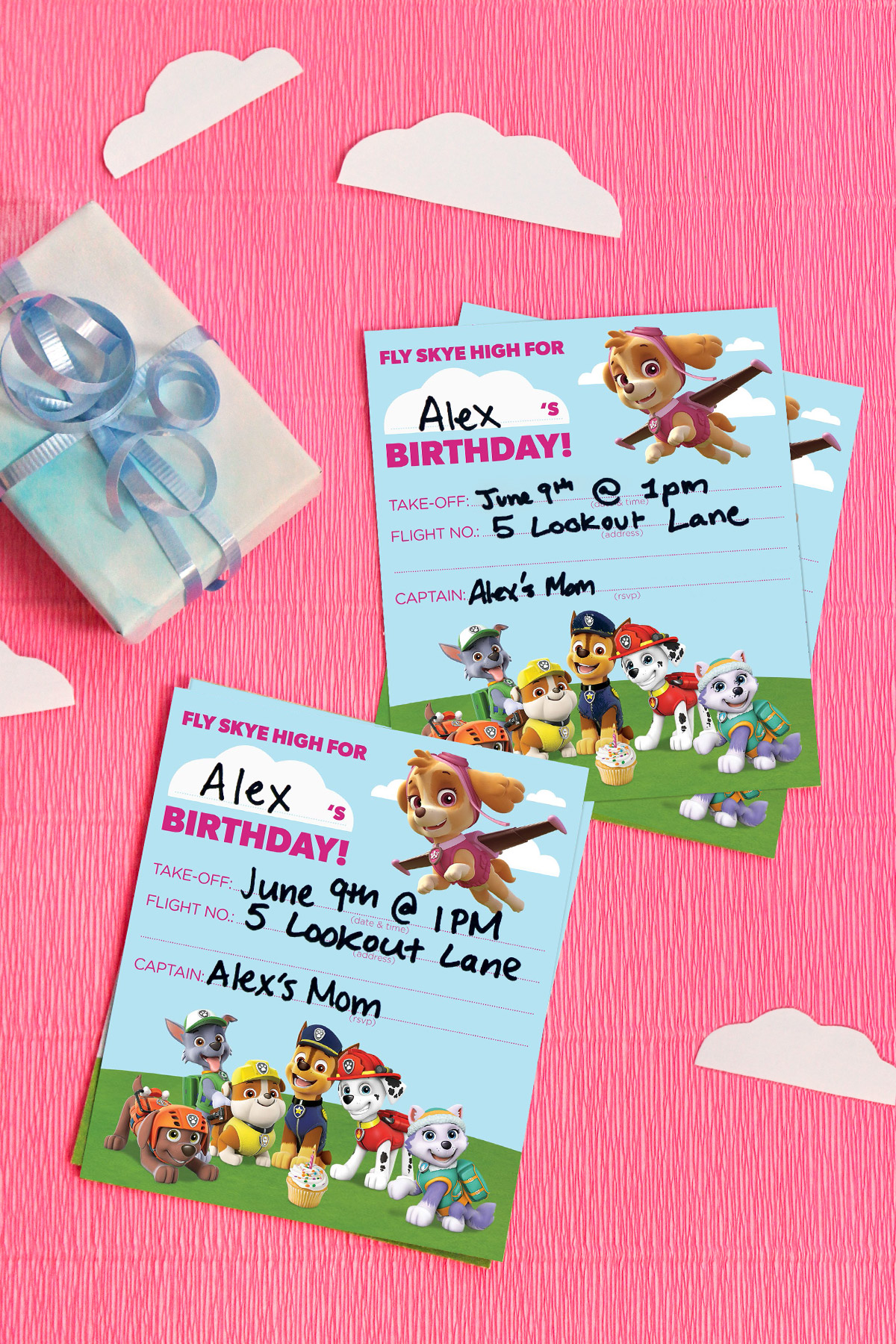 Printable Invitations Ninja Turtles