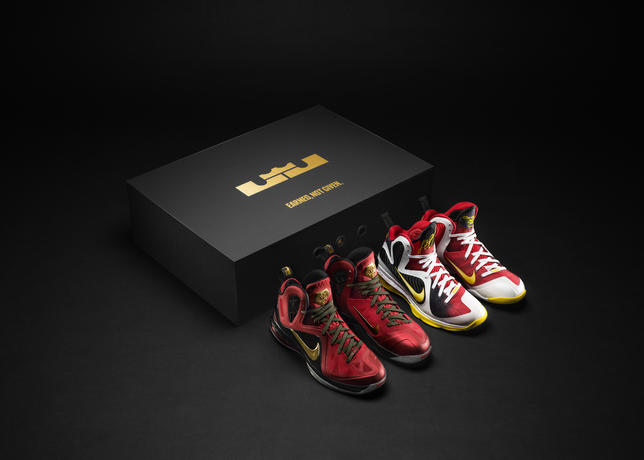 more photos 95569 35ea5 Designed to the specifications of James and his multi-dimensional game, the LEBRON  9 ...