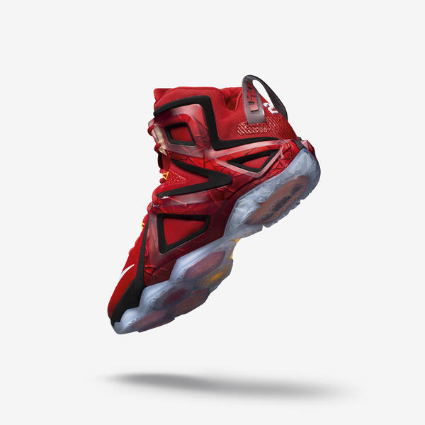 online retailer e4593 5766a The LEBRON 12 Elite leverages high-quality Megafuse construction with mesh  and composite for structure and features new vertical wings wrapping the  foot for ...