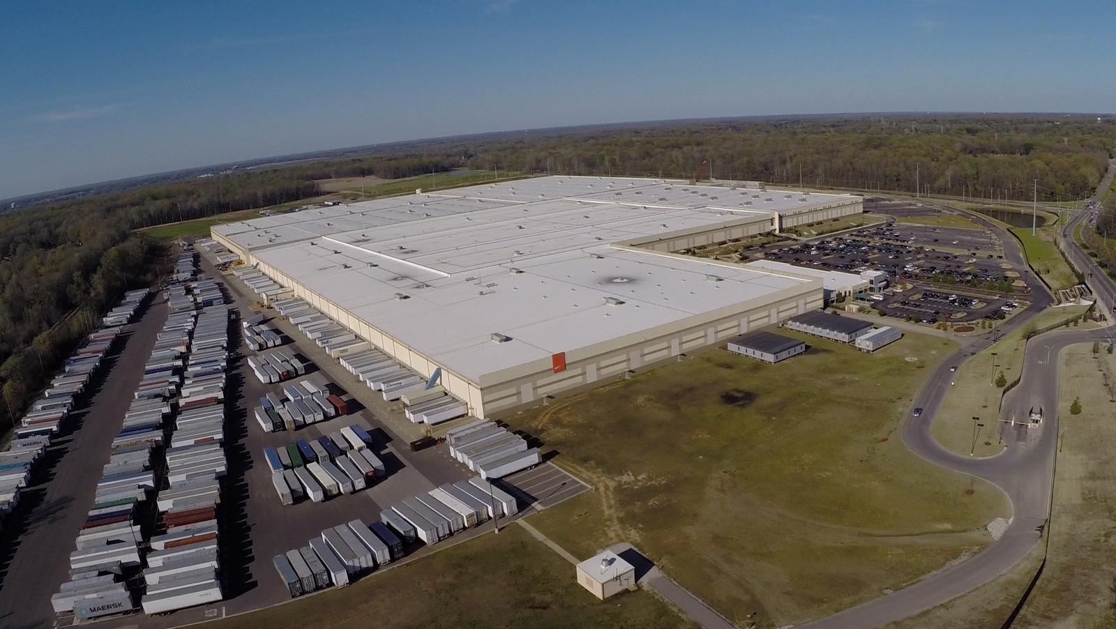 Nike Opens Its Largest Distribution Center Worldwide In