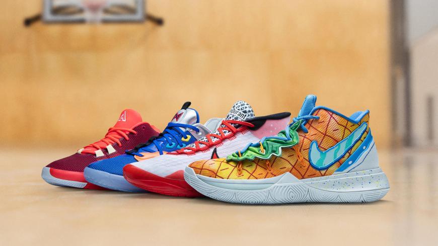 Nikenews featuredfootwear nikebasketball nbaopeningweek2019 20 kyrie5 kd12 pg3 airzoomfreak1 2697 hd 1600
