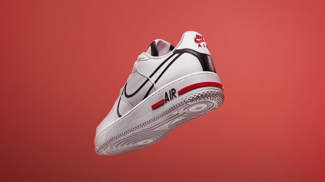Nike sportswear sp20 air force 1 react 01 hd 1600