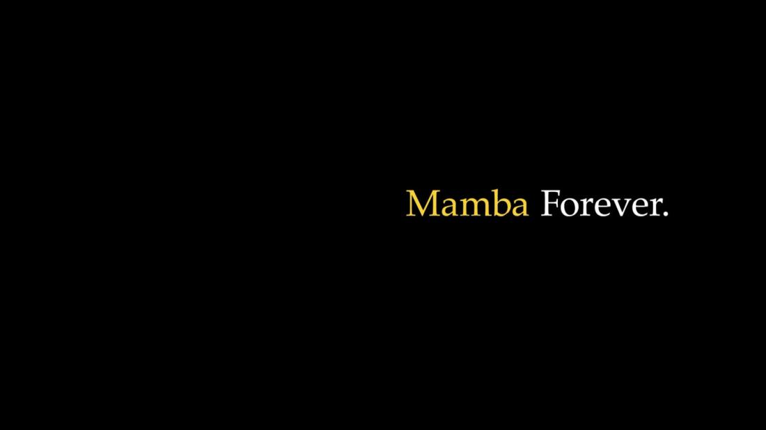 Mamba forever thumbnail hd 1600