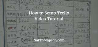 How To Setup Trello